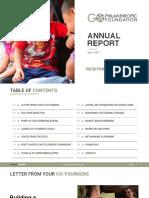 GoPhilanthropic Foundation • 2016-2017 Annual Report