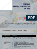 Buku Saku Akreditasi 4 Pokja RSUD Padang Pariaman