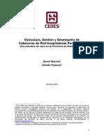 Maceira y Palacios - Estructura, Gestión y Desempeño de Cabeceras de Red Hospitalarias Perinatales PBA