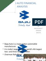 Bajaj Auto Financial Analysis