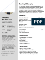 mint green infographic resume-2