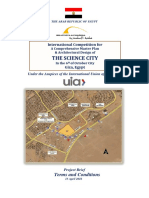 Science City Terms conditions