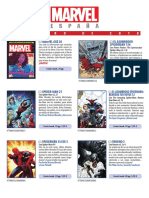 Catálogo FEBRERO 2018 Marvel