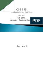 Lecture 1_CSE 225