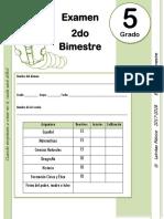 5to Grado - Examen Bloque 2 (2017-2018)