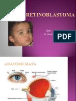 REtinoblastoma presentasi