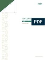 IAPP Foundation Free Study Guide 2013