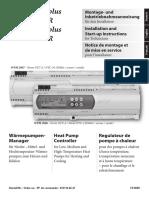 Montageanweisung WPM 2006 Plus