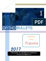 Orthobullets Trauma Major Trauma Vertebral Column