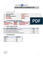 Teaching Plan Mmls (1)