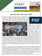 Fasoviat 22 - Janvier 2018