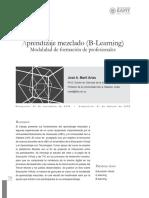 Aprendizaje mezclado (B-Learning) Modalidad de formación de profesionales.pdf
