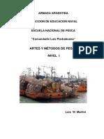 Artes y Metodos de Pesca Nivel I