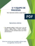 Diseño y Equipo de Procesos