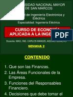 2da Semana - Curso Economía Aplicada a La Ingeniería