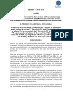 Decreto 1469 de 2010 - Licencias Urbanisticas