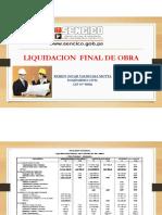 Liquidacion Final de Obra
