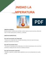 Unidad La Temperatura