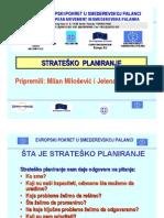 """Trening """"PLANIRANJE (STRATEŠKO I AKCIONO) I POSLOVNA KOMUNIKACIJA"""" - Prezentacija strateškog planiranja"""