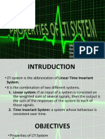 Properties of LTI System