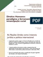 Direitos Humanos. Notas Iniciais (1)