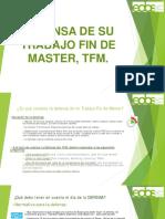 Defensa TFM