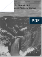 US EPA NPDES Permit Writers Manual