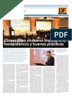 Claves para un nuevo impulso a la transparencia y buenas prácticas