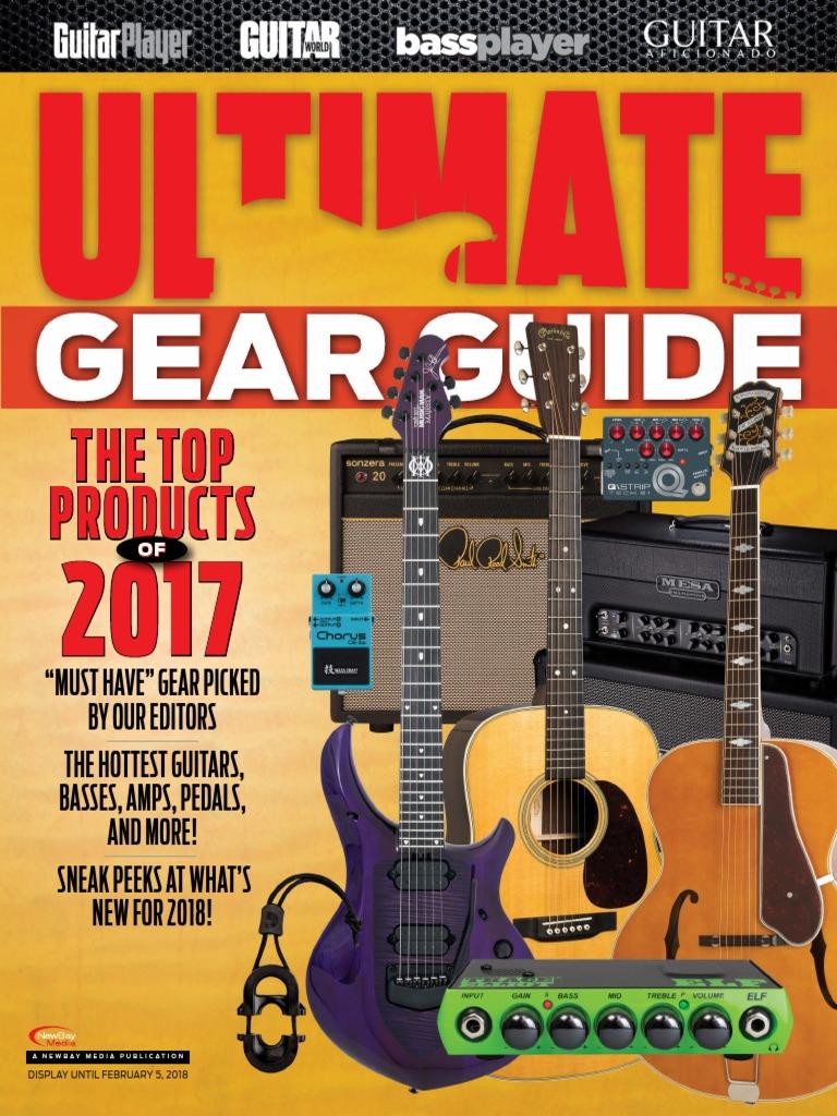 Ultimate Gear Guide Guitarpdf Guitars Bass Guitar Amplified Power Tornado Echoreverb Noise Toy Microphone Cd