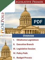 Legislative Primer 2018