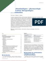 Sympathomimetiques Pharmacologie Et Indications Therapeutiques