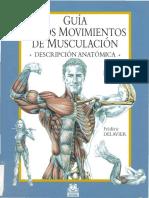 Guía de los movimientos de musculos