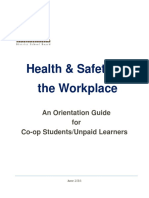 ucdsb orientation guide coop students unpaid learners june 2016