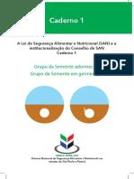 A Lei de Segurança Alimentar e Nutricional (SAN) e a institucionalização do Conselho de SAN Caderno 1.pdf
