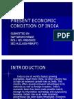 Present Economic Condition of India