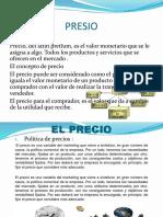 Diapositivas de Precio - Gestion Comercial (1)