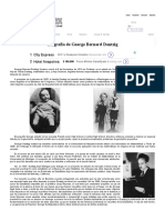 Biografía de George Bernard Dantzig