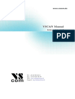 Vscan Manual (CAN bus)