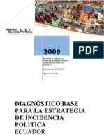 DIAGNOSTICO ECUADOR