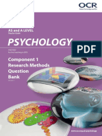 Research Methods Question Bank