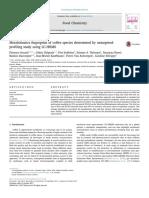 Metabolomics Fingerprint of Coffee Species Determined by Untargeted Profiling