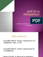 Pragmatica Cognitiva y Social 2010