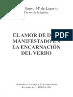 San Alfonso M de Ligorio - El Amor de Dios en La Encarnación