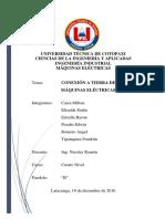 Informe Conexion a Tierra