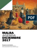 MALBA - Agenda Diciembre 2017