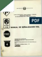 Manual de Señalizacion Vial RD 1983
