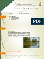 Estructura y función de las comunidades vegetales
