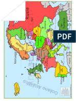 Mapa de Europa 2018