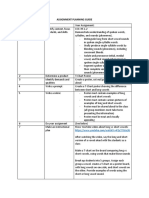 assignment planning guide