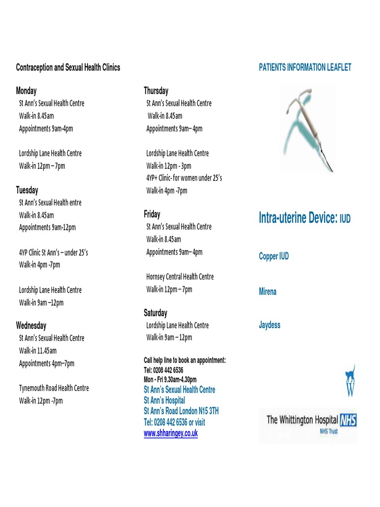 Sexual health clinic london walk in centres